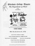 Fiddler on the Roof by Otterbein University Theatre and Dance Department