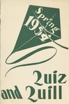 1954 Spring Quiz and Quill Magazine by Otterbein University