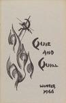1966 Winter Quiz & Quill Magazine by Otterbein University