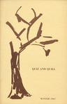 1967 Winter Quiz & Quill Magazine