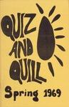 1969 Spring Quiz & Quill Magazine by Otterbein University