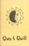 1974-1975 Quiz & Quill Magazine by Otterbein University