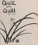 1985 Fall Quiz & Quill Magazine