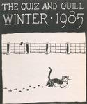1985 Winter Quiz & Quill Magazine