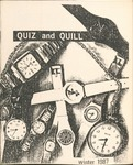 1987 Winter Quiz & Quill Magazine