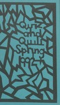 1992 Spring Quiz and Quill Magazine
