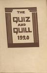 1920 Spring Quiz & Quill Magazine