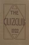 1922 Spring Quiz & Quill Magazine