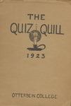 1923 Spring Quiz & Quill Magazine