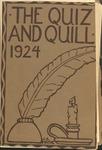 1924 Spring Quiz & Quill Magazine