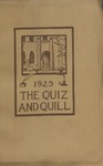1925 Spring Quiz & Quill Magazine