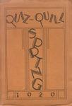 1929 Spring Quiz & Quill Magazine