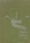 1929 Christmas Quiz & Quill Magazine