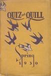 1930 Spring Quiz & Quill Magazine
