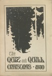 1930 Christmas Quiz & Quill Magazine by Otterbein University