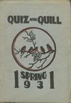 1931 Spring Quiz & Quill Magazine
