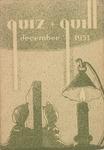 1931 December Quiz & Quill Magazine by Otterbein University