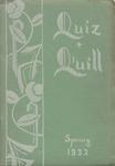 1932 Spring Quiz & Quill Magazine