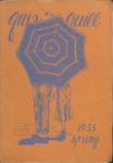 1933 Spring Quiz & Quill Magazine