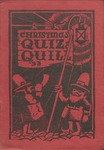 1933 Christmas Quiz & Quill Magazine