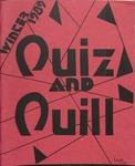 1989 Winter Quiz & Quill Magazine