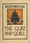 1926 Christmas Quiz & Quill Magazine