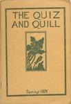 1928 Spring Quiz & Quill Magazine by Otterbein University