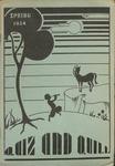 1934 Spring Quiz & Quill Magazine by Otterbein University