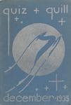 1935 December Quiz & Quill Magazine by Otterbein University