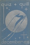 1935 December Quiz & Quill Magazine