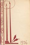 1936 Christmas Quiz & Quill Magazine by Otterbein University