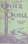 1941 Spring Quiz & Quill Magazine