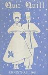 1941 Christmas Quiz & Quill Magazine by Otterbein University