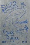 1919-1944 Quiz & Quill Silver Anniversary