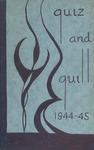 1945 Spring Quiz & Quill Magazine