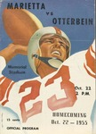 1955 Otterbein College vs. Marietta College Football Film - Film 2 of 2 (Homecoming)