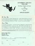 1959-1960 Season Brochure