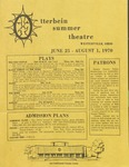 1970 Otterbein Summer Theatre Season Brochure
