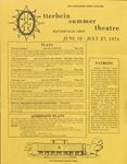 1974 Otterbein Summer Theatre Season Brochure
