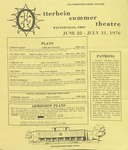 1976 Otterbein Summer Theatre Season Brochure