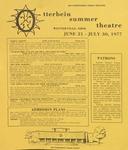 1977 Otterbein Summer Theatre Season Brochure