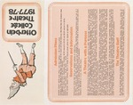 1977 - 1978 Season Brochure