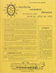 1978 Otterbein Summer Theatre Season Brochure