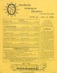 1980 Otterbein Summer Theatre Season Brochure
