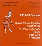 1981 - 1982 Season Brochure