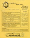 1983 Otterbein Summer Theatre Season Brochure