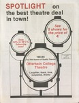 1983 - 1984 Season Brochure