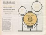 1985 Otterbein Summer Theatre Season Brochure