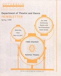 1986 Otterbein Summer Theatre Season Brochure by Otterbein University Department of Theatre and Dance