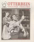 1989 - 1990 Season Brochure by Otterbein University Department of Theatre and Dance